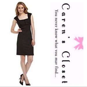 Calvin Klein Black Stretch  Sheath Dress
